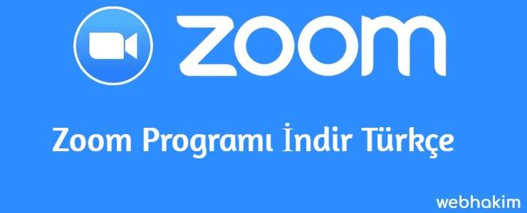 Zoom Programi Indir Turkce