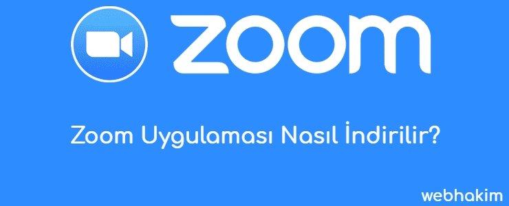 Zoom Uygulamasi Nasil Indirilir_