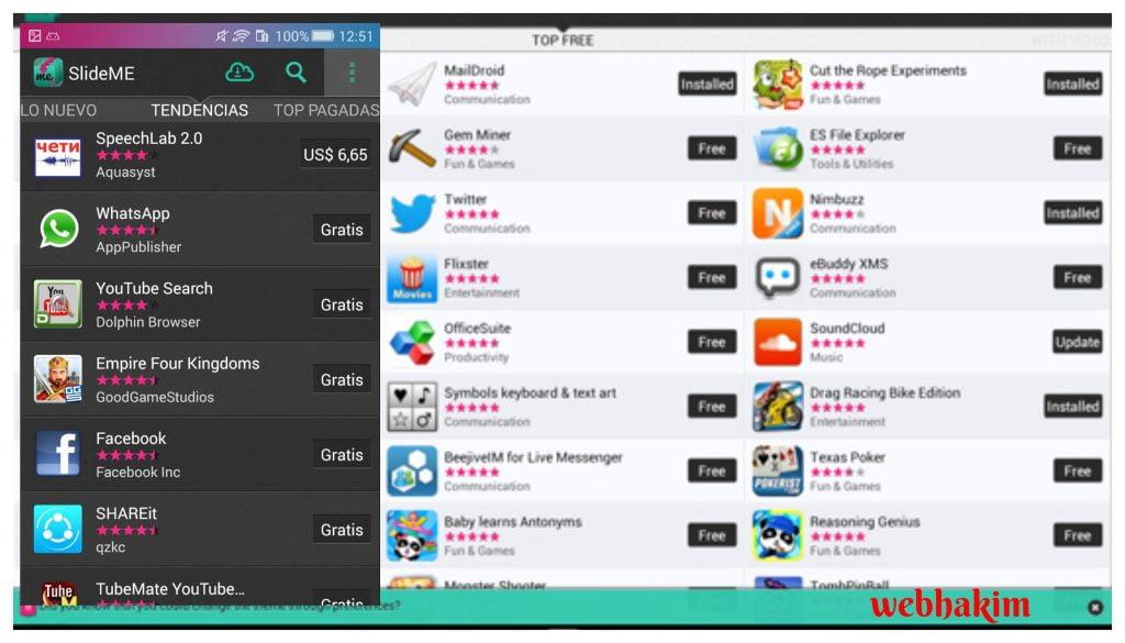 app store tarzi programlar
