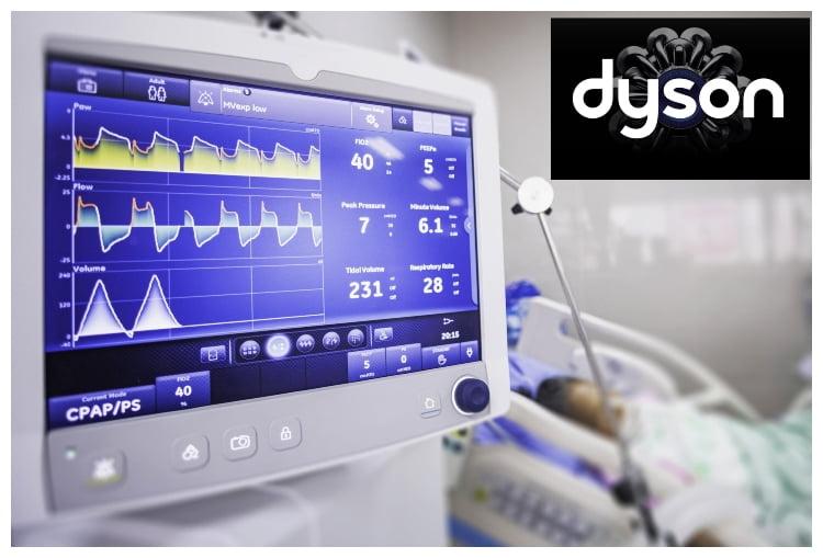 Dyson, Corona Virüs Hastalarını Tedavi Etmek İçin Ventilatörler Üretiyor!