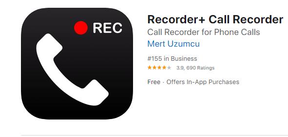 en iyi arama kaydedici uygulamalari ios