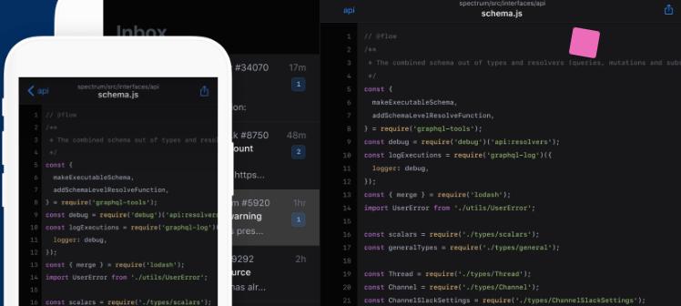 github kod uygulamasi android