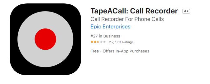 iphone arama kaydetme ucretsiz