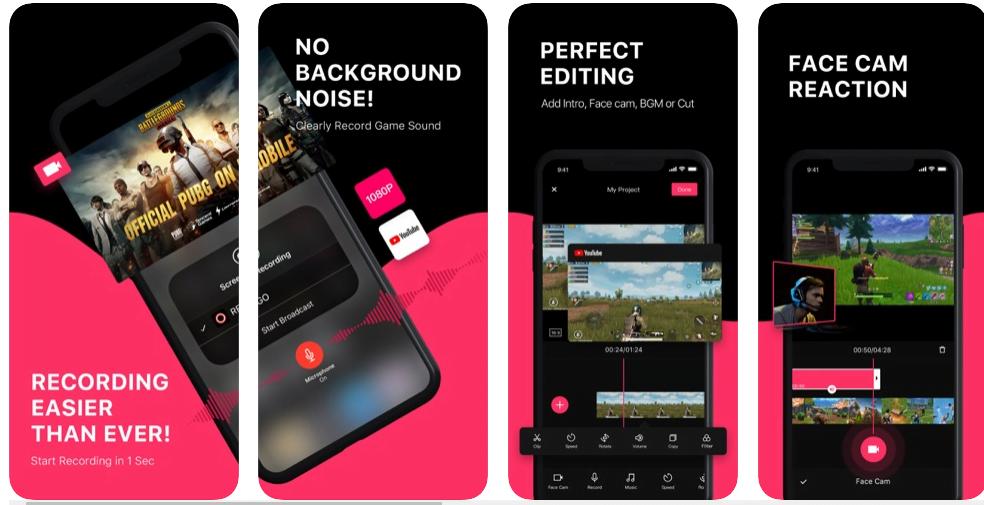 iphone ekran kaydedici ucretsiz