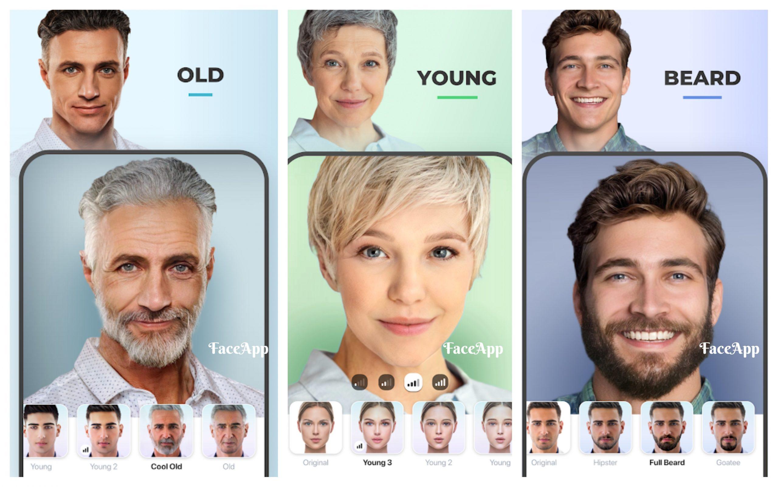 yaslandirma uygulamasi faceapp indir
