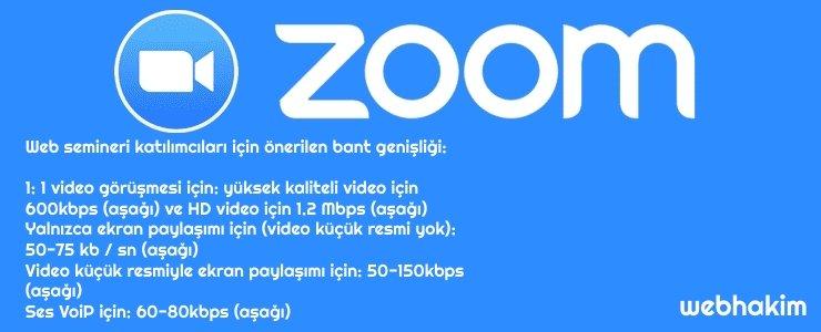 zoom sistem gereksinimleri nelerdir webhakim video