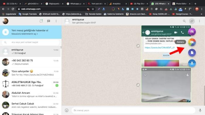 Bilgisayarda WhatsApp görüntülü arama nasil yapilir