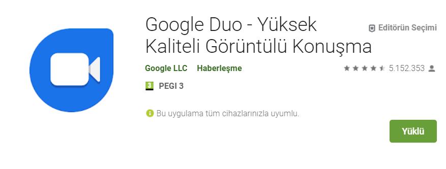 Google Duo Nedir
