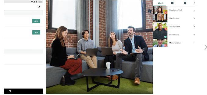 Google Hangouts Meet Özellikleri