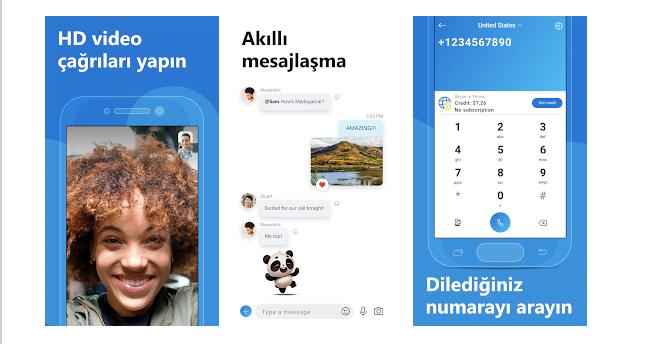 Skype üzerinden görüntülü konuşma nasil yapilir