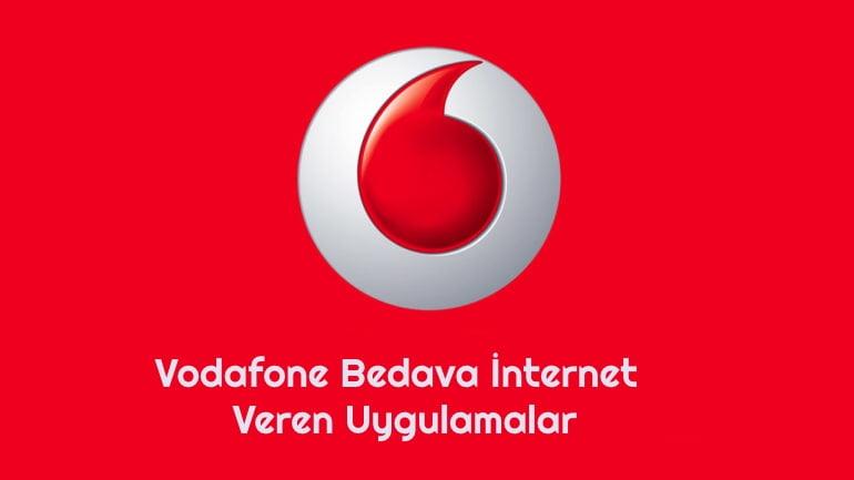 Vodafone Bedava İnternet Veren Uygulamalar