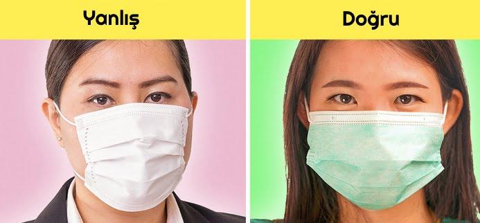 """Corona Virüsten Korunmanın Yolları """"Maske Nasıl Takılmalıdır"""""""