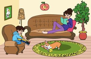 İngilizcenize Güveniyor Musunuz? Evin İçine Gizlenmiş 5 İngilizce Kelimeyi Bulun!