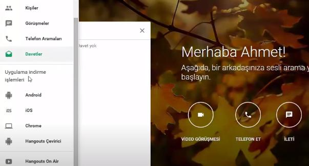 google hangouts nasil kullanilir webhakim