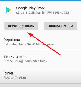 google play indirme bekleniyor hatasi çözümü