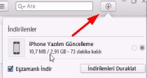 iphone sorun