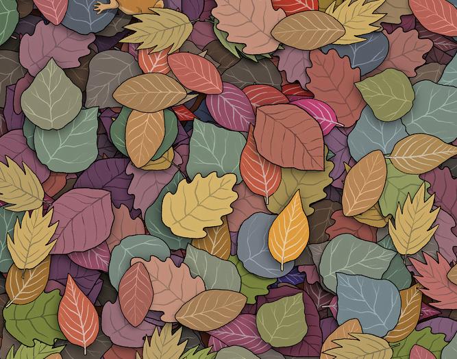 yapraklarin arasindaki kurbagiyi bulun