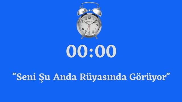 00.00 saat anlami 2020