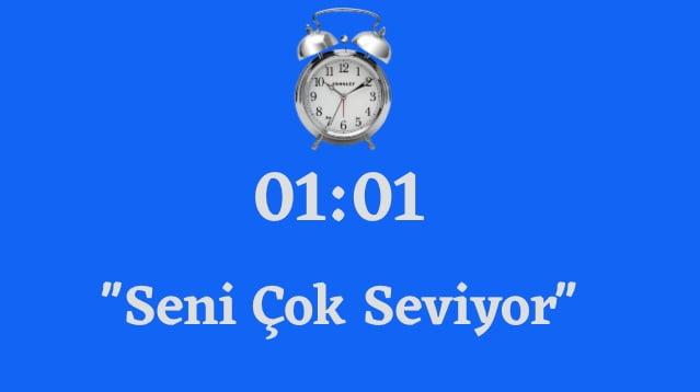 01.01 saat Anlami