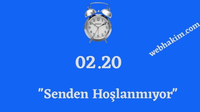 02.20 ters saat anlami 2020