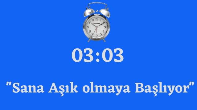 03.03 Saat Anlami