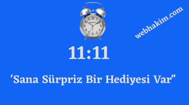 11.11 saat anlami 2020