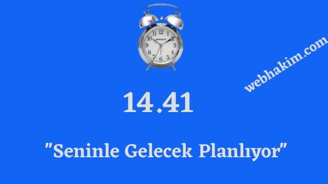 14.41 ters saatin anlami