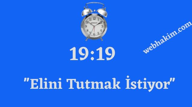 19.19 saat anlami 2020