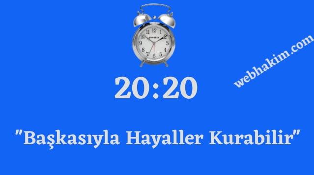 20.20 saat anlami 2020 (1)