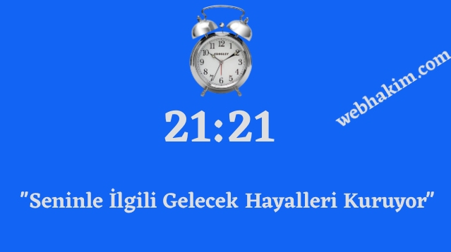 21.21 saat anlami 2020