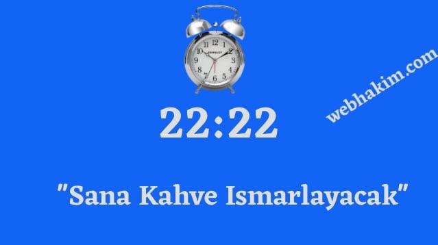22.22 saat anlami 2020