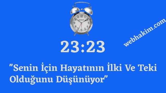 23.23 saat anlami 2020