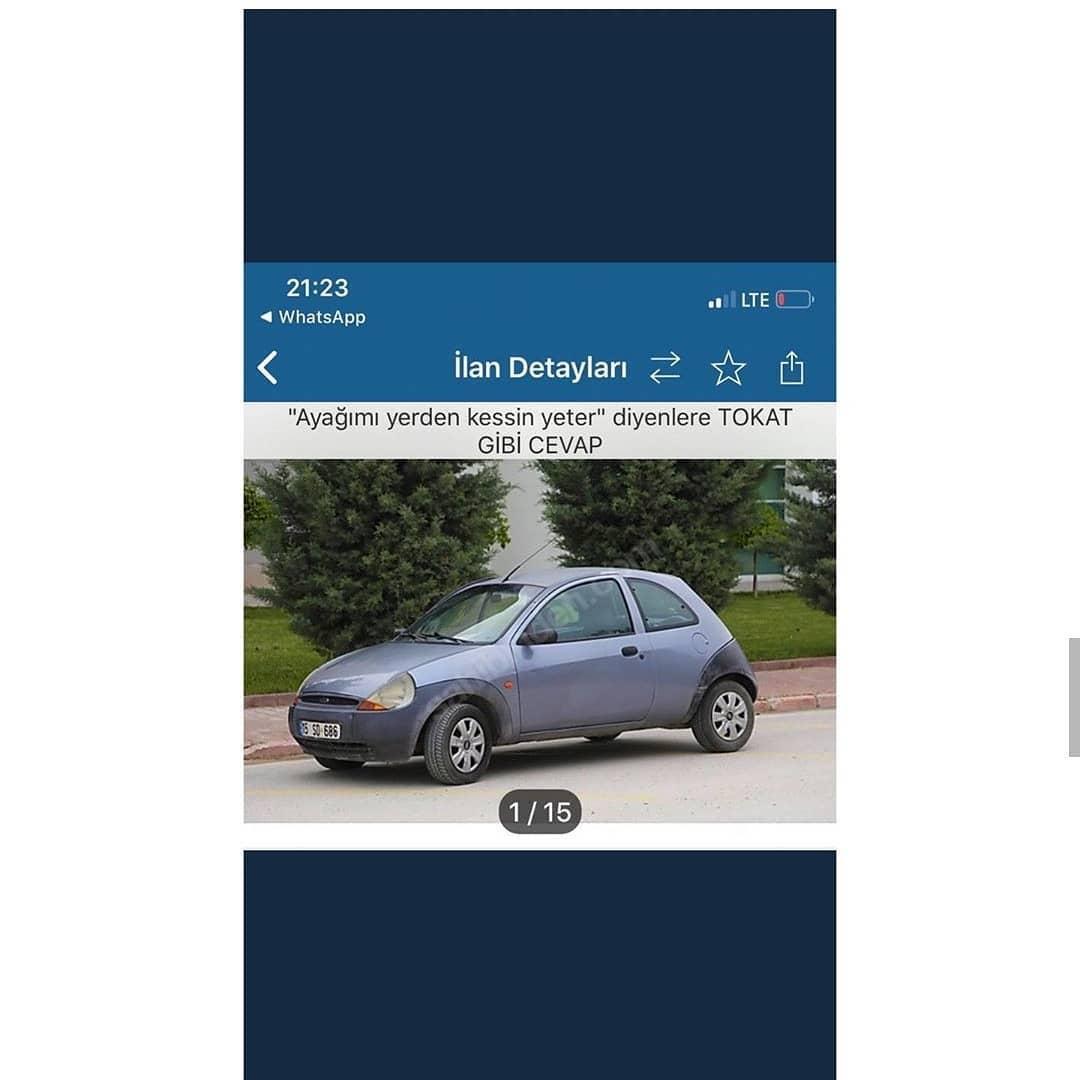 Sahibinden.com'da Yayınlanmış İlginç Araba İlanı