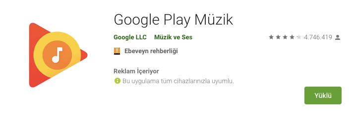 android müzik indirme