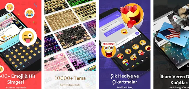 En iyi Android Turkce klavye