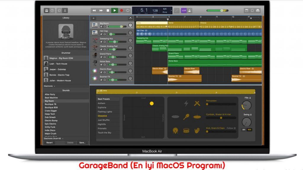 GarageBand En Iyi MacOS Programi