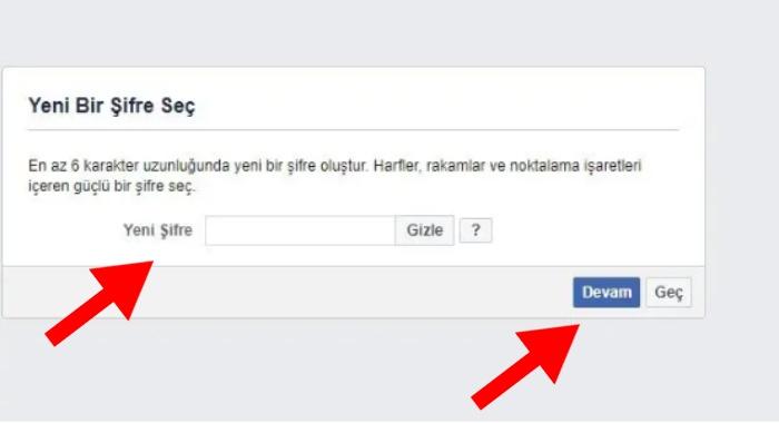 facebook sifremi unuttum kod gelmiyor 2020