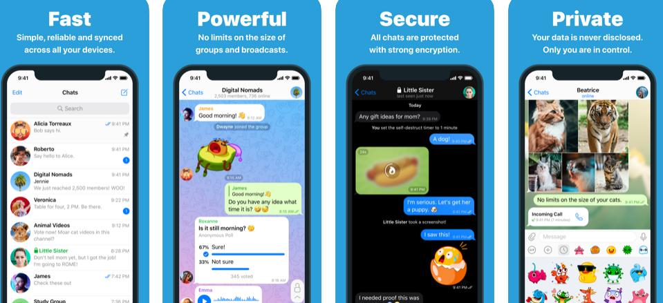 gizli mesajlasma uygulamasi android
