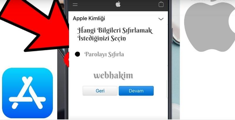 iPhone Sifremi Unuttum