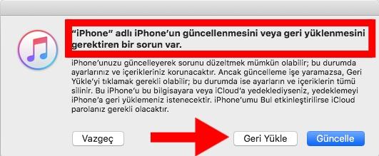 iphone kurtarma