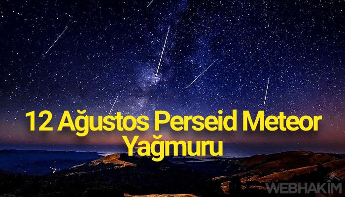 12 Ağustos Perseid Meteor Yağmuru 2020 Canlı İzle