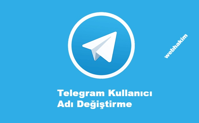 telegram kullanici adi degistirme