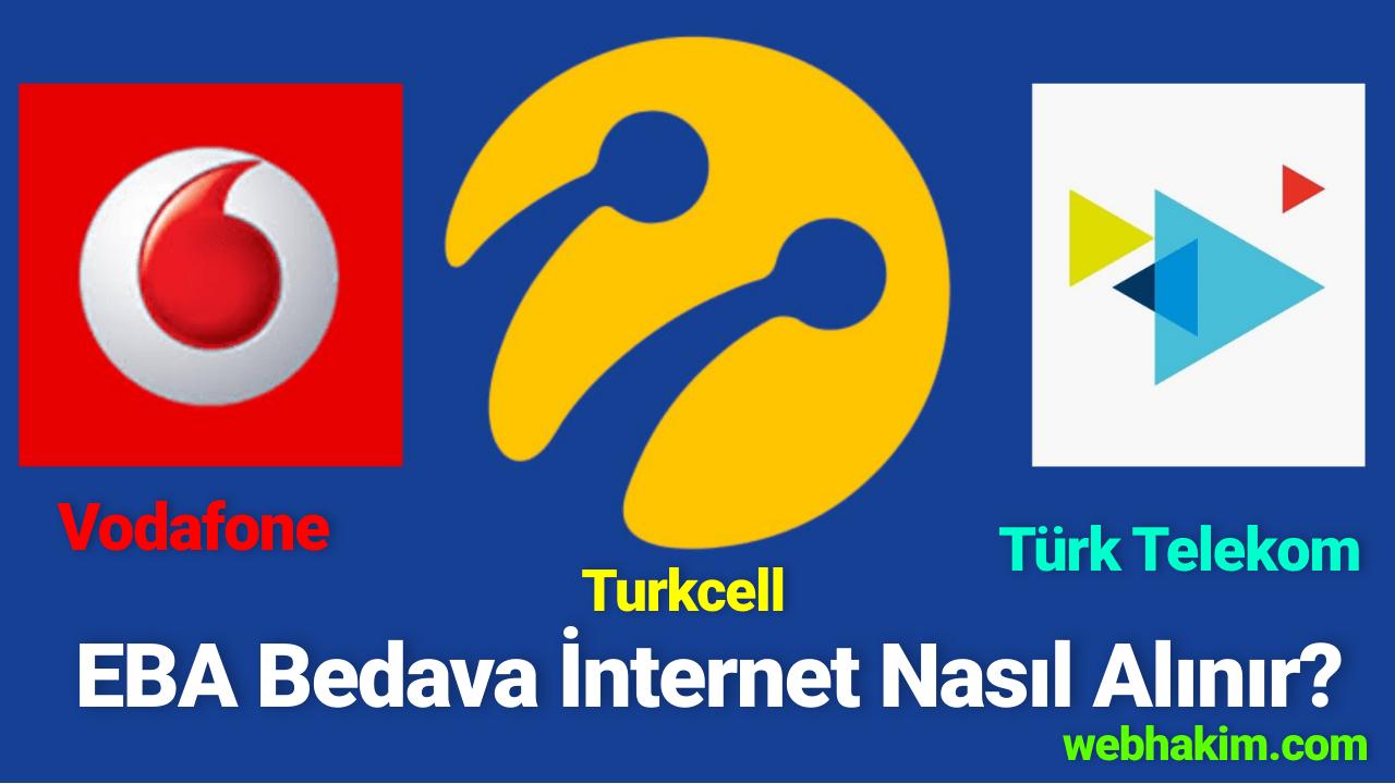 EBA Bedava internet Nasil Alinir