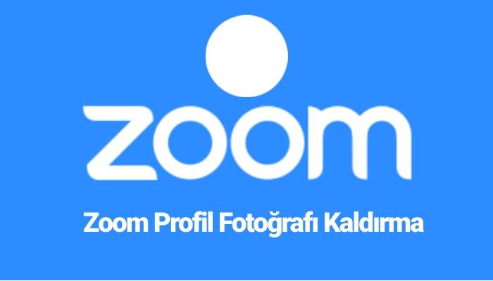 zoom profil resmi silme