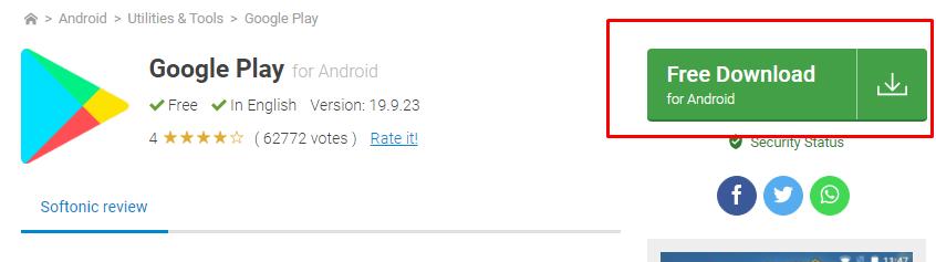 google play indir telefona ucretsiz
