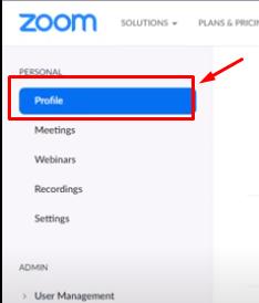 zoom kullanici adi degistirme