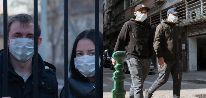Maske Takmayanlara 3 Gun Sokaga Cikma Yasagi
