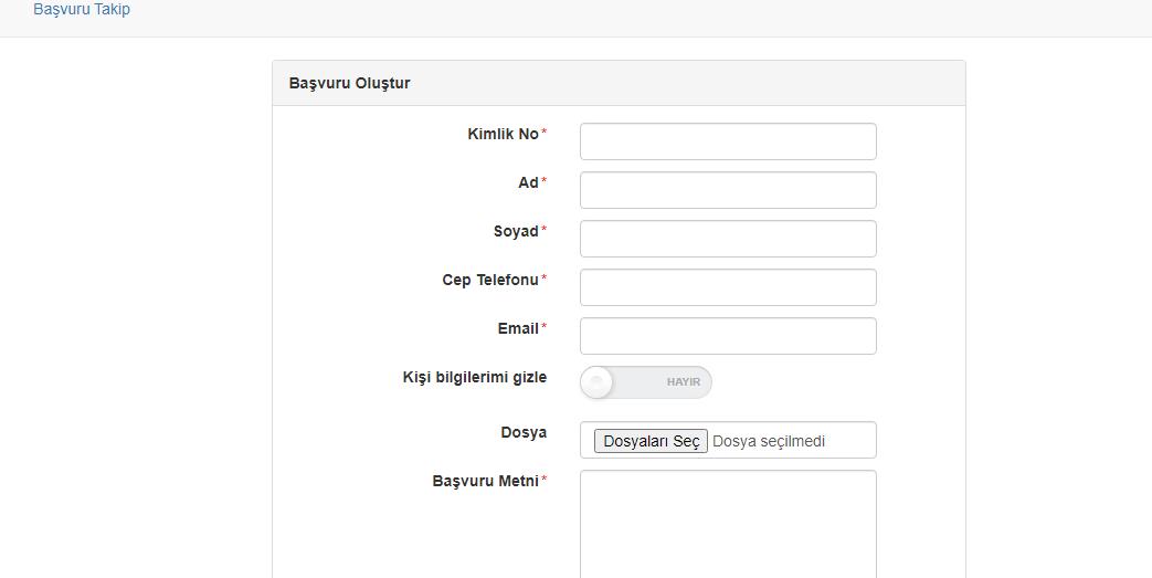 Ucretsiz tablet basvurusu Ankara