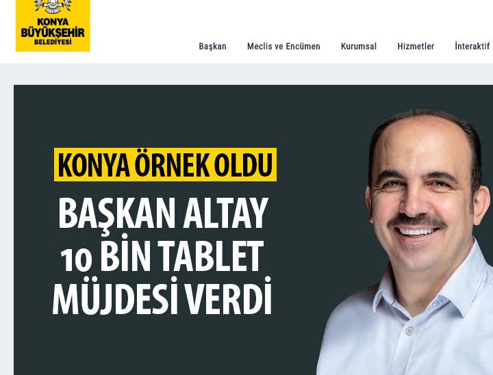 Ucretsiz tablet basvurusu Konya