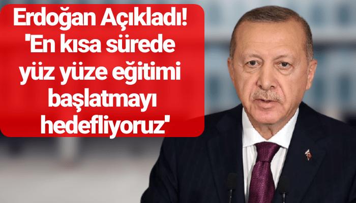 son dakika erdoğan